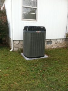 New Trane unit installed per customer's request.