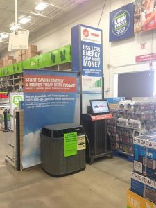 R&R Heating and Air Conditioning has partnered with Lowes to provide your one stop shopping for home improvement.