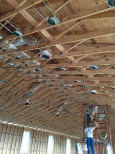 These duct systems will be subjected to extreme heat. Good insulation and air sealing are very important.
