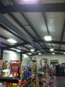 This is the new FabriDuct system installed at the new Sun Valley Feed Mill in Brownsville Ky.