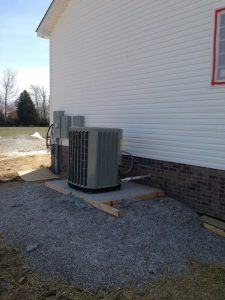 Zone system nearing completion. This is a 15 SEER TRANE system.